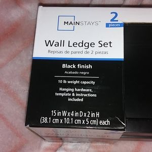 Mainstays Wall Art - Wall Ledge Set